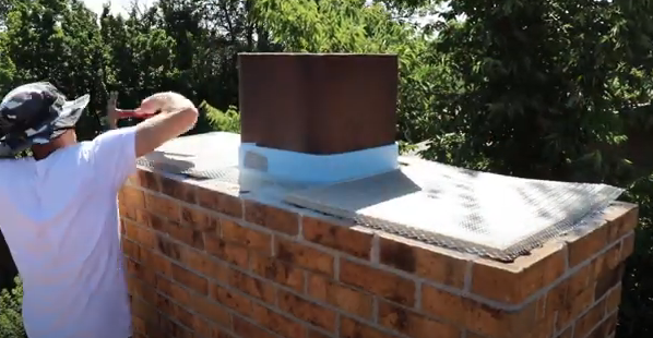 chimney cap replacement